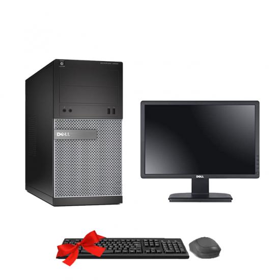 Dell Optiplex 3010 MT Core i5 +Ecran Dell E1913C (Remis à Neuf )