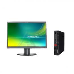 Lenovo ThinkCentre M700 TINY +Ecran   LT2252PWA (Remis à Neuf)