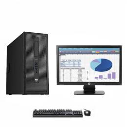 Pack Pc HP Prodesk 600 G1 TW +Ecran HP ProDisplay P202 (Remis à Neuf)