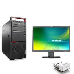 Pack Pc Lenovo  M700 Core i5-6400+Ecran Lenovo  LT2252PWA (Remis à Neuf )