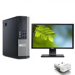 Dell Optiplex 7010 SFF  Core i7-3770  + Ecran DELL P2213T (Remis à Neuf )